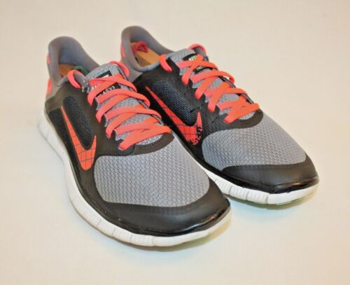 Nike 4.0 V3 Gray Black Athletic Mens Boys Youth Sneakers Shoes Size 6.5M