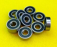 4pcs S6901-2RS 12x24x6 mm 440c Stainless Steel Rubber Sealed Ball Bearings BLK