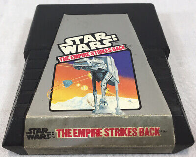 Atari 2600 Star Wars Empire Strikes Back Parker Brothers Lucasfilm '82 Tested