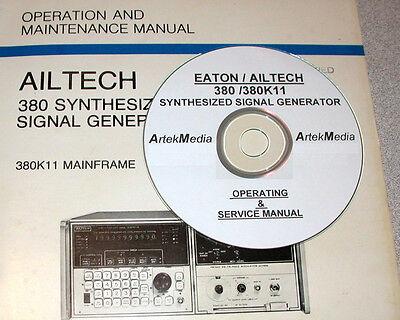 Ailtech 380 380k11 Operating Service Manual