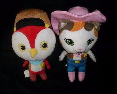 2 Disney Sheriff CALLIE'S Wilder Westen Deputy Peck Vogel Plüschtier Spielzeug ()