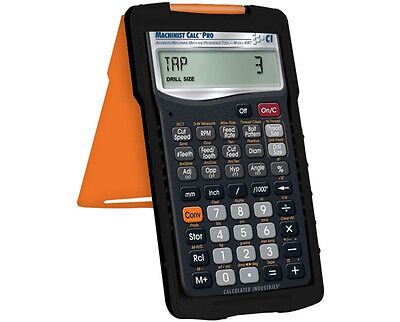 Machinist Calc Pro 4087 Calculator   Armadillo Case  Calculated Industries