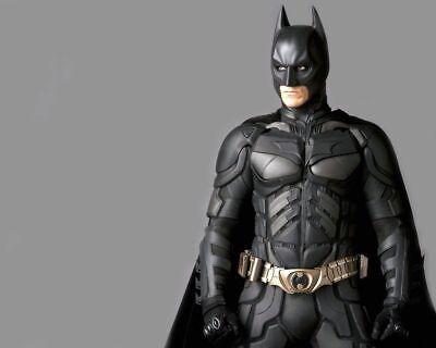 Christian Bale Bale Evolution Batman Costume  8x10 Picture Celebrity Print