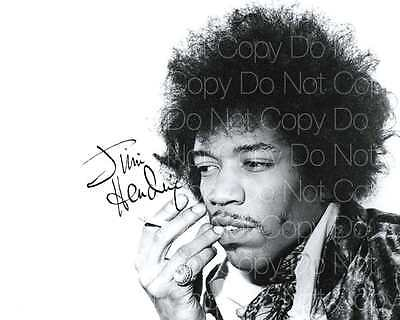 Jimi Hendrix Signed Guitarist Guitar 8X10 Photo Picture Poster Autograph Rp 2