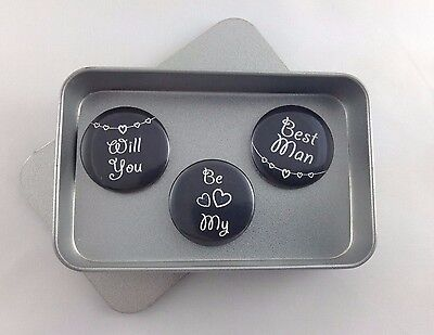 Wedding 'Will You Be My Best Man' Magnet Gift