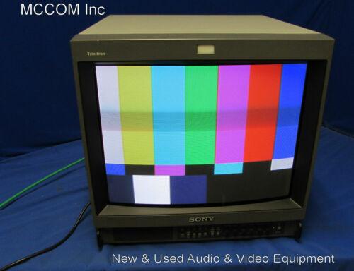 "Sony PVM-20M2U 20"" Color CRT Monitor -Retro Gaming"