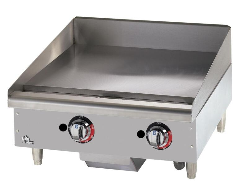 Star 624tf Star-max Countertop 24in Thermostatic Gas Griddle