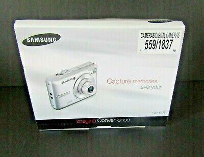 Samsung S1075 Digital Camera 10.2MP New in Box