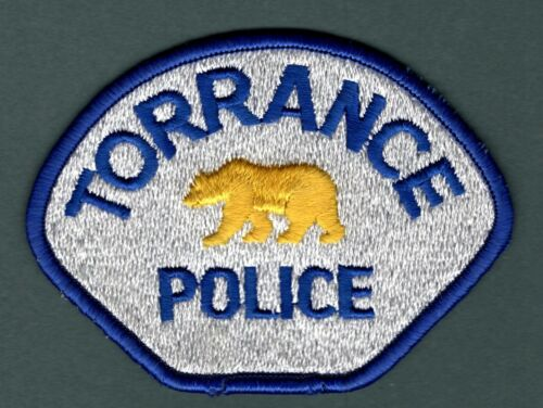 Torrance California Police Patch