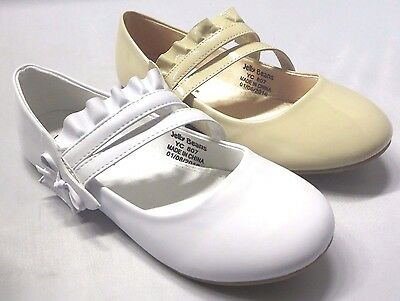 Girl Flats (Blis) Kid Flower Girl Pageant Dress Shoes White - Flower Girl Shoes White Flats
