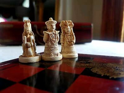 Handcraft TANG Antique Chess in Ancient Chinese characters (L) Ancient Chinese Chess