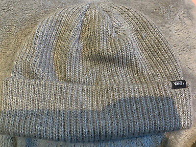 vans Grey Wooly Hat