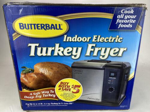 -NEW- Masterbuilt Butterball Indoor Electric Turkey Fryer 14