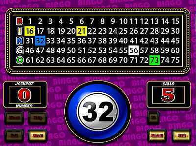 Diamond Games Ltd. Deluxe Bingo Calling Software - With Voice