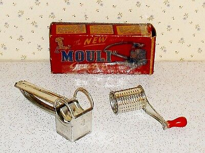 Vintage Mouli rotary grater made in France