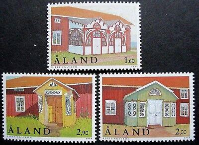 Aland 1998 Traditional Porches Set. MNH.