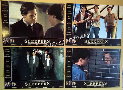 Lobby Card Lot~ SLEEPERS ~Kevin Bacon ~Brad Renfro ~Geoffrey Wigdor ~Joe Perrino