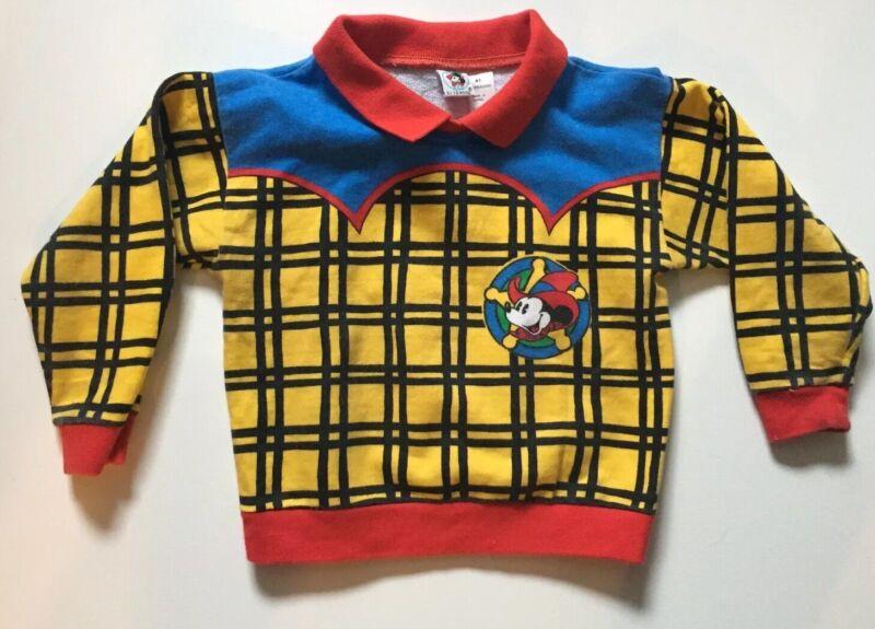 Mickey & CO Vintage Kids Youth Boys Sweatshirt 4T J.G. Western Sheriff Lasso