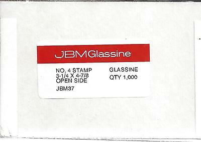 Box of 1000 NEW JBM #4 Glassine Envelopes 3 1/4