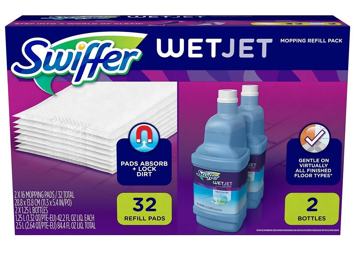 Swiffer Wetjet Mopping Refill Pack