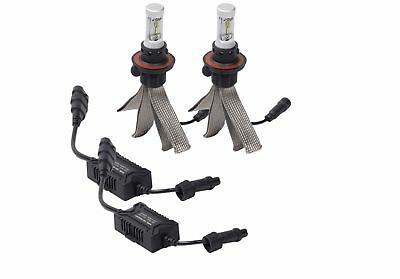 Putco Lighting Driving Lights Silver-Lux LED Kit w/o Anti-Flicker Harnes#300880  Putco Driving Lights