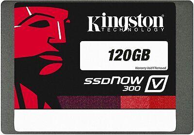 Kingston SSDNow V300 Series 120GB MLC SATA 6Gbps SSD | SV300S37A/120G