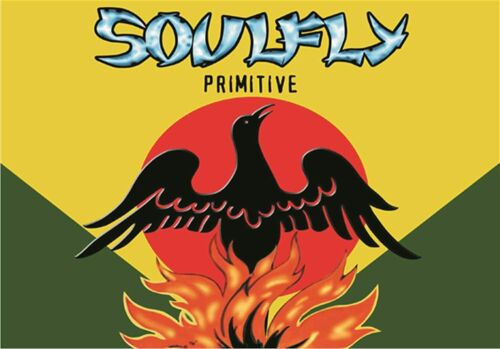 """Soulfly Primitive Phoenix Cloth Textile Fabric Poster Flag Banner 30"""" x 40"""" New"""