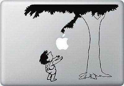 (The Giving Tree Macbook Apple Macbook Laptop Air Pro Decal Sticker Skin Vinyl)