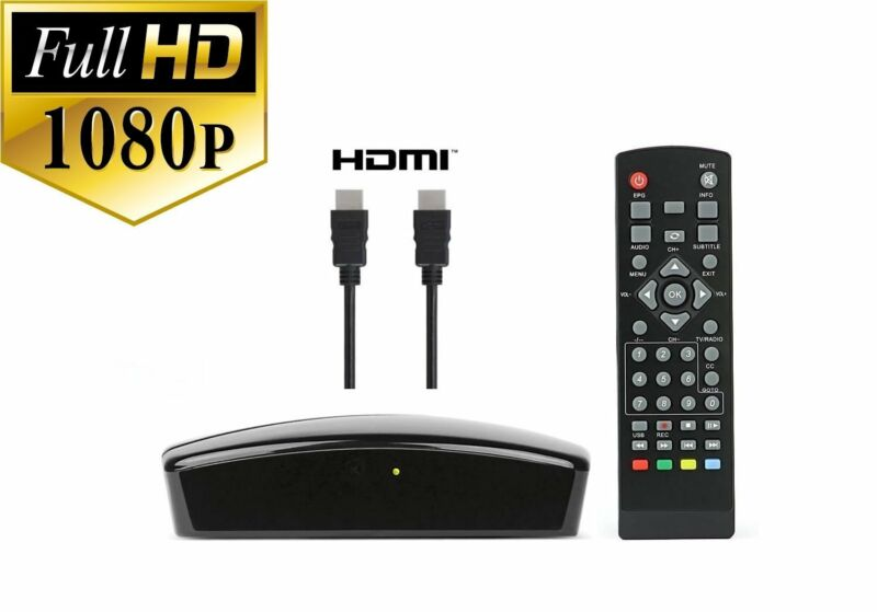 USED Digital Converter Box w/ HDMI Cable to View/Record HD Local Channels