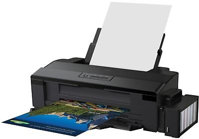 DHL - ( No Box ) NEW EPSON L1800 Ink Tank System ITS A3+ 6 Color Printer AC 110V
