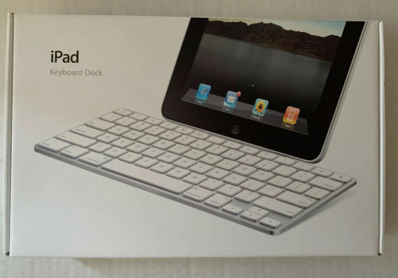 iPad Keyboard Dock Edition 2 For iPad Generation 2 Or Older NIB