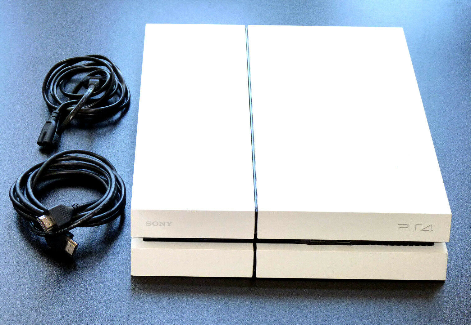 PLAYSTATION 4 KONSOLE 500GB EDITION WEISS + KABEL + HDMI PS4 white 500 GB weiß