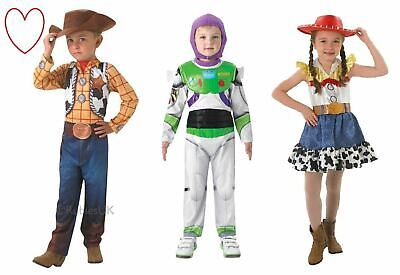 Girls Boys Toy Story Fancy Dress Costumes Buzz Woody Jessie Book Day - Woody Girl Costume