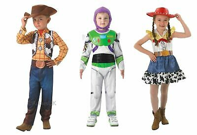 Childrens Toy Story Costumes Fancy Dress Buzz Woody Jessie Girls - Jessie Woody Costumes