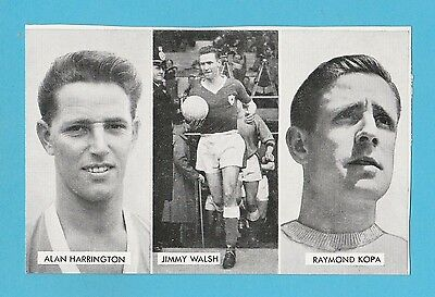 FOOTBALL - D.C. THOMSON -  CUP - TIE  STARS  OF  ALL  NATIONS  CARD  (P) -  1962