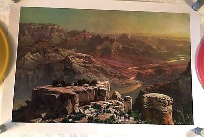 GRAND CANYON VISTA by ALEXANDER CHEN SIGNED/NUMBERED 2134/2250