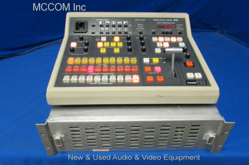 Grass Valley 110 Production Switcher w/ 110 panel & 100 electronics - no cable