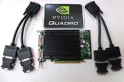 256mb Nvidia Quadro Nvs 440 - PCIe X16 Quad Display Graphics Card Nvidia Quadro NVS440 256MB VCQ440NVS-PCIEX16
