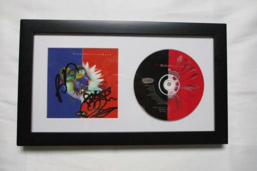 * DAVE MATTHEWS BAND * signed framed CD * CRASH * BOYD TINSLEY TIM REYNOLDS * 2