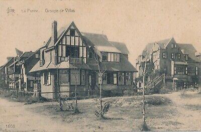 CPA - Belgique - De Panne - La Panne - Groupe de Villas