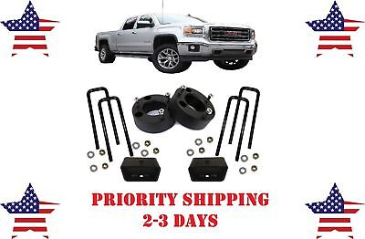 "3"" Front and 2"" Rear Leveling lift kit for Chevy Silverado GMC Sierra 2007-2019"