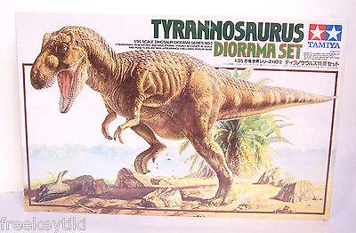 Tamiya Tyrannosaurus Rex T-Rex Dinosaur Diorama Set Plastic