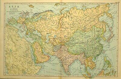 Cartina Siberia Russia.Pre 1900 Russian Atlas Vatican