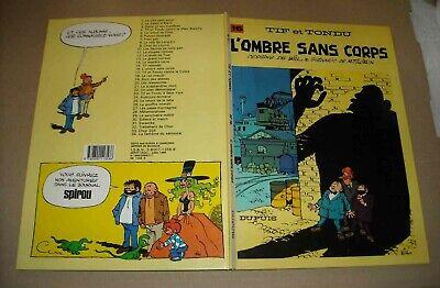 TIF ET TONDU L'OMBRE SANS CORPS N°16 CARTONNEE