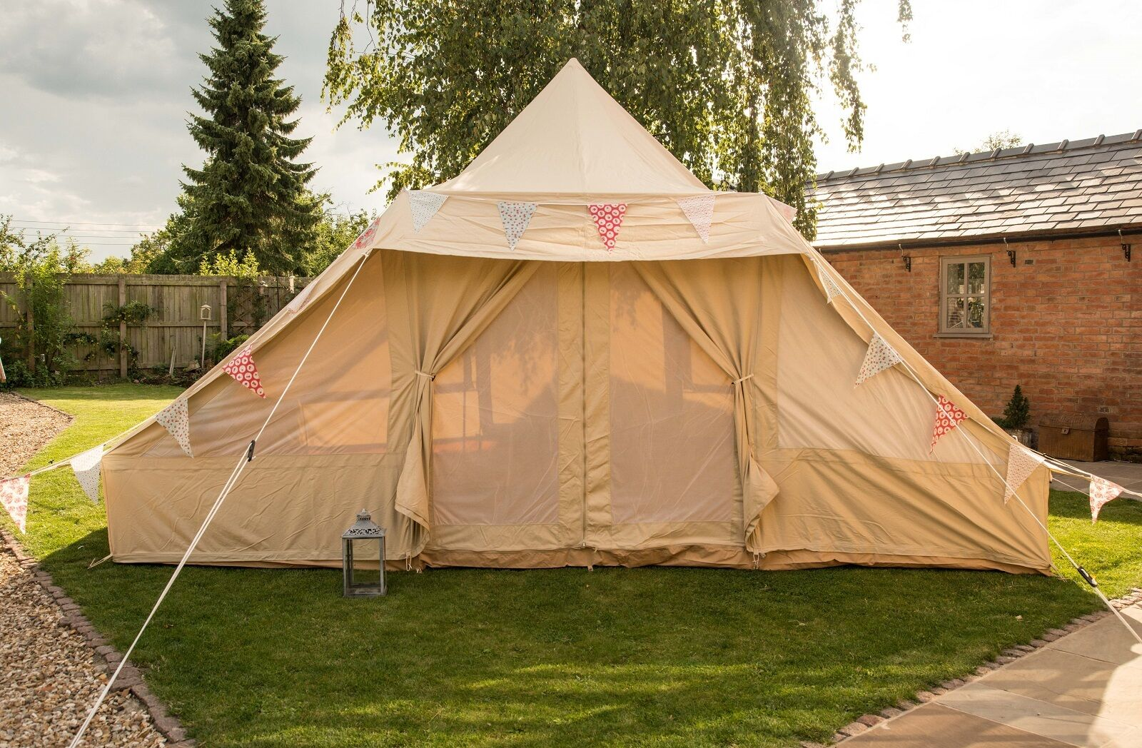 5m X 4m Touareg Roman Bell Tent 100 Canvas With Zig By