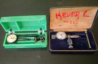 Vintage Testmaster M-2 .0001 Gem 222 .001 Dial Test Indicator Jeweled Federal