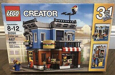 LEGO Creator 3-in-1 Corner Deli 31050 New Sealed Retired Rare No Reserve