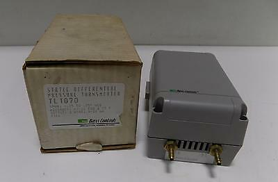 Basys Controls Static Differential Pressure Transmitter Tl1070 Nib
