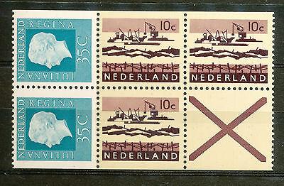 Nederland Inhoud Boekje 12 postfris met plaatfout PM1 (sleepkabel)