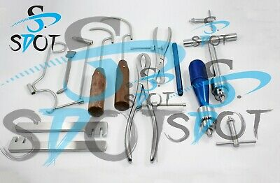 Orthopedic Instruments Set Of 13 Pcs Sdot Instruments